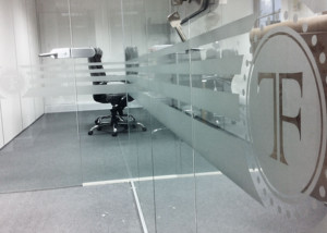 Farani Taylor Javid - Interior Window Graphics Holborn Office